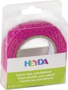 Heyda Self-Adhesive Crochet Lace Roze (203584564)