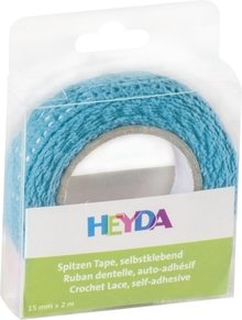 Heyda Self-Adhesive Crochet Lace Blauw (203584531)