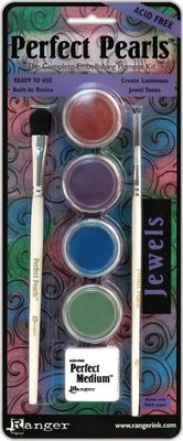 Ranger Perfect Pearls Jewels Pigment Powder Kit (PPP16007)