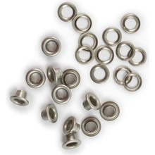 We R Memory Keepers Nickel Eyelets & Washers (42218-1)