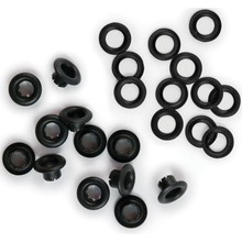 We R Memory Keepers Black Eyelets & Washers (42219-8)