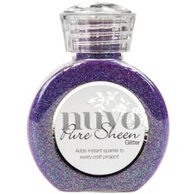 Nuvo Pure Sheen Glitter Violet Infusion (NPSG 723)