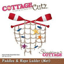 Scrapping Cottage CottageCutz Paddles & Rope Ladder (Net) (CC-117)