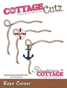 Scrapping Cottage CottageCutz Rope Corner (CC-120)