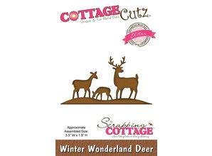 Scrapping Cottage Cottage Cutz Winter Wonderland Deer (Elites) (CCE-049)