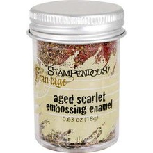 Stampendous! Fran-Táge Aged Scarlet Embossing Enamel (FREG039)