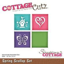 Scrapping Cottage CottageCutz Spring Scallop Set (CC-145)