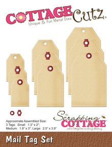 Scrapping Cottage CottageCutz Mail Tag Set (CC-142)