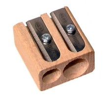 KUM Wood Cutter Two Hole Pencil Sharpener (142-17)