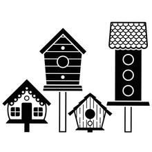 Darice Embossing Essentials Birdhouses Post (1219-401)