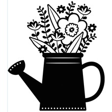 Darice Embossing Essentials Flowers In Water Can (1219-404)