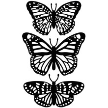 Darice Embossing Essentials Butterfly Trio (1219-405)