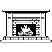 Darice Embossing Essentials Fireplace (1219-406)