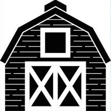 Darice Embossing Essentials Barn (1219-408)