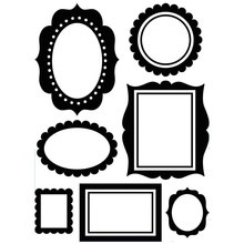Darice Embossing Essentials Wall Frames (1219-410)