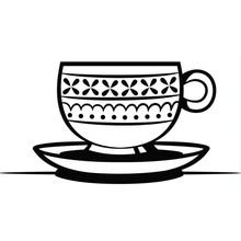 Darice Embossing Essentials Teacup & Saucer (1219-413)