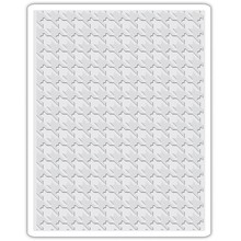 Sizzix Texture Fades Houndstooth Embossing Folder (661201)