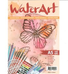 Water Art Aquarelpapier A5 (1068)