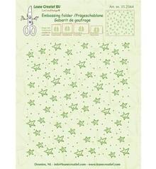 Leane Creatief Background Stars Embossing Folder (35.2564)