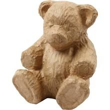Papier Maché Teddybeer (50727)