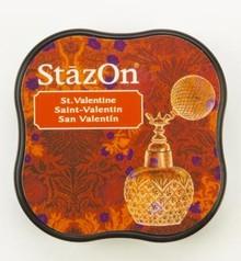 Tsukineko StazOn Valentine Midi Solvent Ink Pad (SZ-MID-24)