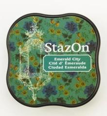 Tsukineko StazOn Emerald City Midi Solvent Ink Pad (SZ-MID-54)