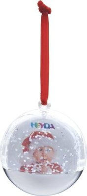 Heyda Snowglobe Kerstbal (204888408)
