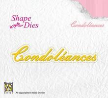 Nellie Snellen Shape Die Condoléances (SD094)