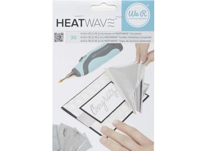 We R Memory Keepers Heatwave Foil Sheets Silver (662656)