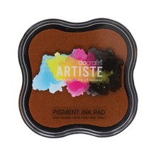 Docrafts Pigment Ink Pad - Dark Orange (DOA 550102)