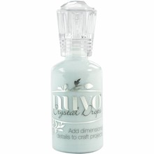 Nuvo Crystal Drops Gloss Duck Egg Blue (680N)