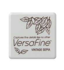 Tsukineko Versafine Vintage Sepia 1 Inch Pigment Ink Pad (VFS-54)