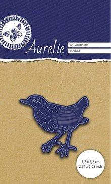 Aurelie Botanical Garden Black Bird Die (AUCD1006)