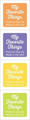 My Favorite Things Premium Dye Ink Cubes - Set 1 (ICUBE-01)