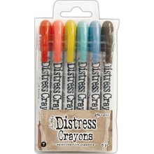 Ranger Tim Holtz Distress Crayon Set 7 (TDBK51770)