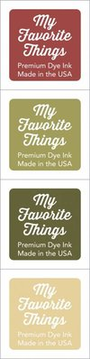 My Favorite Things Premium Dye Ink Cubes - Set 13 (ICUBE-13)