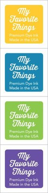 My Favorite Things Premium Dye Ink Cubes - Set 15 (ICUBE-15)