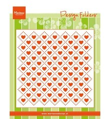 Marianne Design Design Folder Sweet Hearts (DF3432)