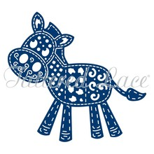 Tattered Lace Patchwork Donkey (D1374)