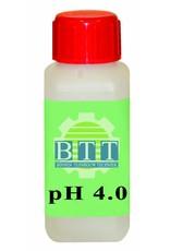 BTT pH 4,01 Fluid 100 ml kalibrieren.
