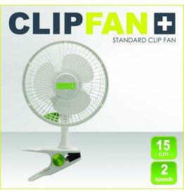 Garden High Pro Clip fan (Clipfan) 15cm white, 2 speeds with fastening clip