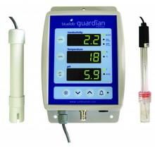 PH meter, EC meter, en Temperatuurmeter Guardian Monitor