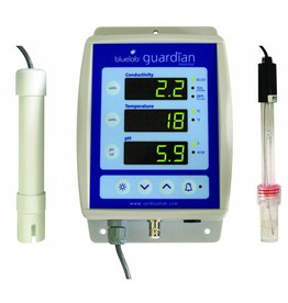 BlueLab PH meter, EC meter, and Temperature gauge Guardian Monitor