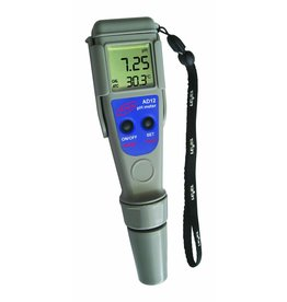 Adwa PH meter en temperatuurmeter AD-12 (waterdicht)