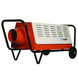 Dry-Fast Heater DFE-80-T 9000 & 15.000 watt / 400 V