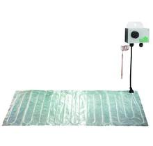 Aluminium grond verwarmings mat 100 x 200cm (300W)