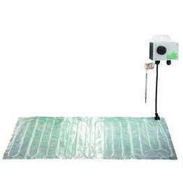 BIOGreen Bodenheizmatte aus Aluminium 100 x 200cm (300W)