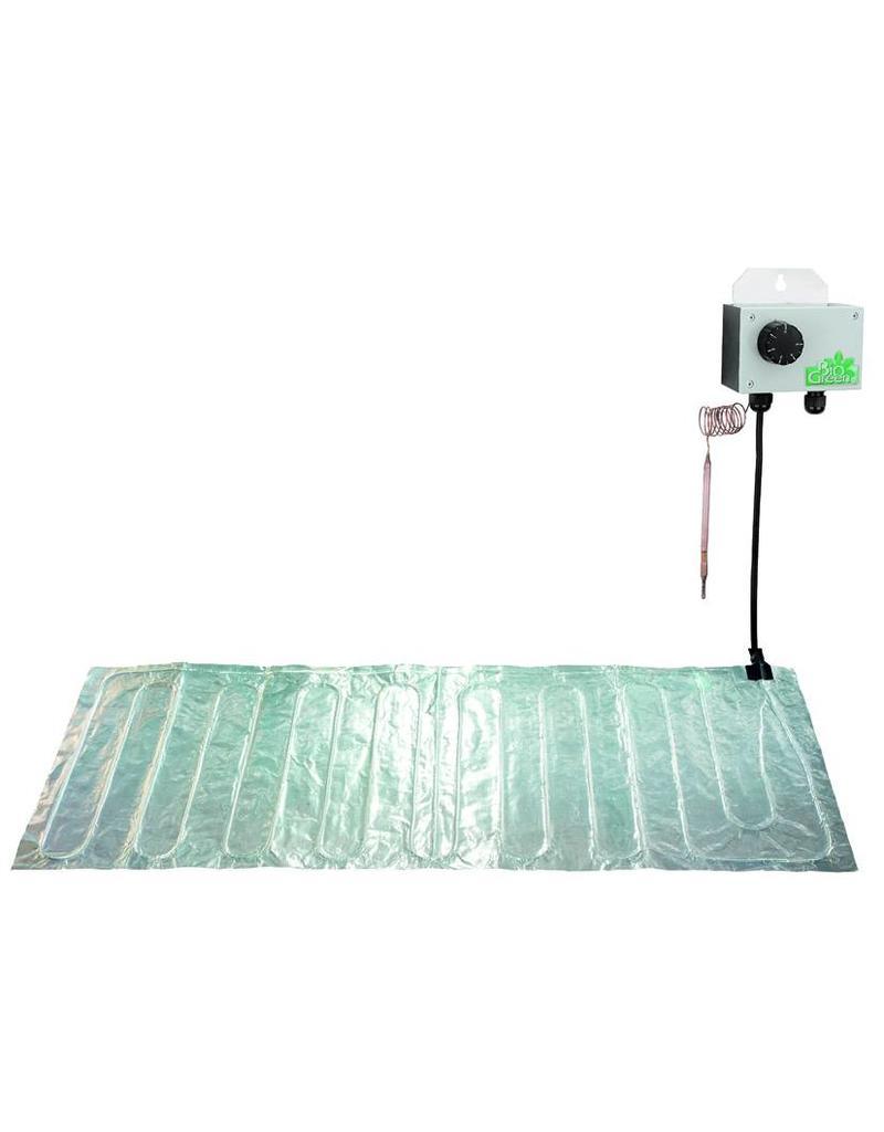 BIOGreen Aluminium grond verwarmings mat 40 x 200cm (157W)