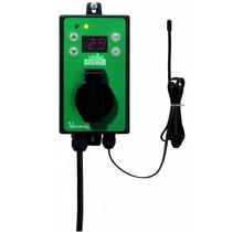 Thermostaat voor verwarmings kabels & pads (max. 3000W)