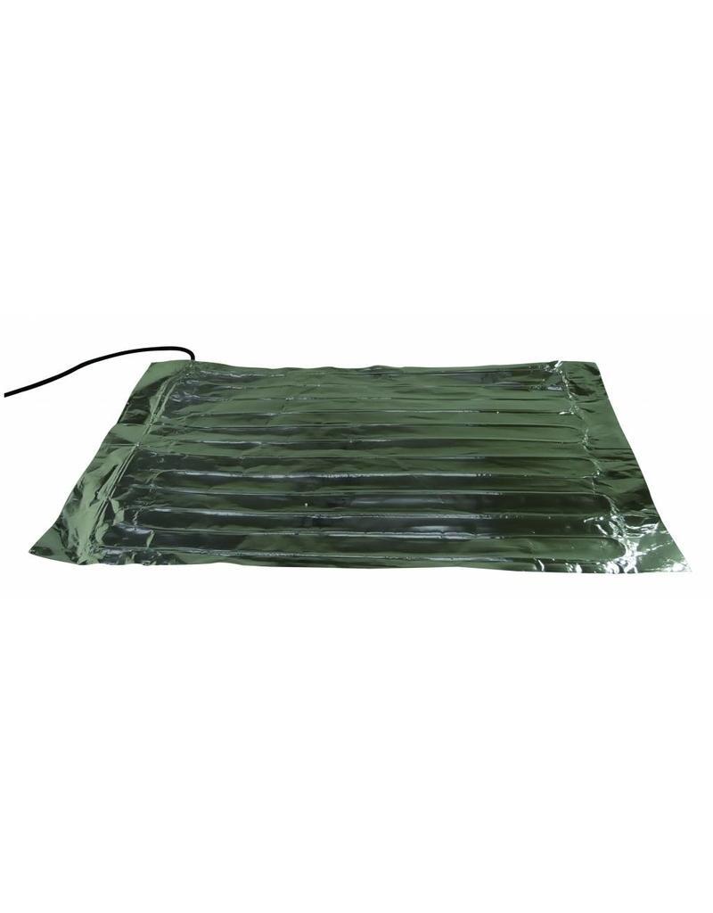 Hotbox Heatwave 72 x 72cm. 78Watt verwarmings mat
